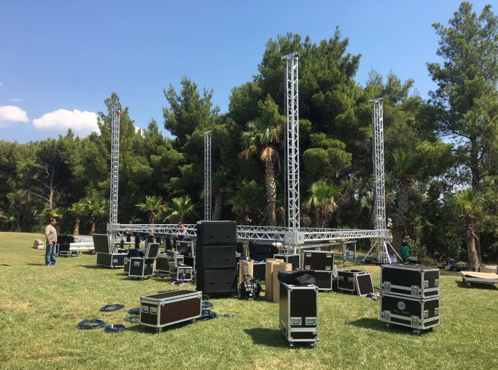 Trusses & Backdrop systems